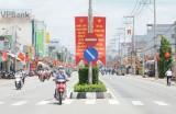 Long An: Bến Lức hân hoan chào mừng Đại hội Đảng bộ huyện lần thứ XI