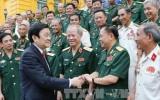Chủ tịch nước gặp mặt tri ân cựu chiến binh đơn vị anh hùng