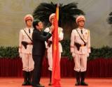Mít tinh kỷ niệm 70 năm Ngày truyền thống Công an nhân dân