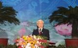 Tổng Bí thư dự lễ kỉ niệm 70 năm ngày truyền thống ngành Tư pháp