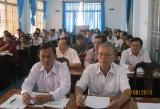 Long An: Hội nghị báo cáo viên Tỉnh ủy tháng 8