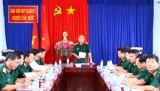 Bộ Tư lệnh quân khu 7 kiểm tra công tác tuyển quân ở Cần Đước
