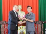 Lãnh đạo tỉnh Long An tiếp Tổng Lãnh sự Lào