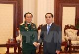 Thủ tướng Lào: Quân đội Lào và Việt Nam cần hợp tác sâu hơn