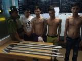 TP. Hồ Chí Minh:Giang hồ dùng ôtô chở mã tấu đi hỗn chiến