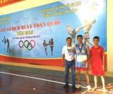 Long An đoạt 1 huy chương bạc và 1 huy chương đồng