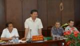 Ban Đối ngoại Trung ương làm việc với tỉnh Long An về vấn đề biên giới
