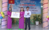 Trường Mẫu giáo Mỹ Yên: Đón nhận bằng công nhận đạt chuẩn Quốc gia