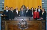 Chủ tịch Quốc hội gặp lãnh đạo Thượng viện, Hạ viện Massachussett- Mỹ