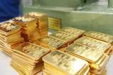 Vàng đồng loạt giảm giá mất 340.000 đồng/lượng trong tuần
