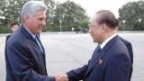 Phó Chủ tịch Cuba Miguel Diaz Canel bắt đầu thăm Triều Tiên