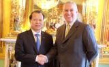 Phó Thủ tướng Vũ Văn Ninh dự Diễn đàn Kinh tế Việt Nam tại Anh