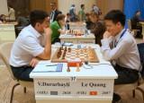 Quang Liêm, Trường Sơn thắng trận mở màn World Cup cờ vua 2015