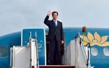 Thủ tướng Nguyễn Tấn Dũng thăm và làm việc tại Lào