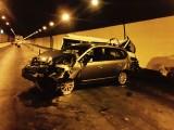 Hàng loạt xe tông nhau trong hầm Hải Vân