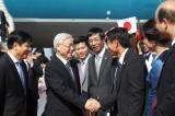 Tổng Bí thư đến Tokyo, bắt đầu thăm chính thức Nhật Bản