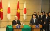 TBT Nguyễn Phú Trọng hội đàm với Thủ tướng Nhật Bản Shinzo Abe
