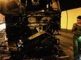 Lại cháy xe dữ dội trong hầm Hải Vân