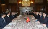 Tổng Bí thư Nguyễn Phú Trọng hội kiến Chủ tịch Hạ viện Nhật Bản