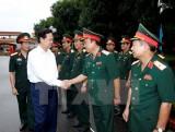 Thủ tướng Nguyễn Tấn Dũng thăm và làm việc tại Quân khu 4