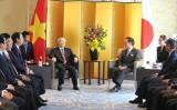 Tổng Bí thư Nguyễn Phú Trọng thăm tỉnh Kanagawa, Nhật Bản