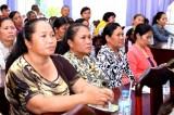 Hội Liên hiệp Phụ nữ tỉnh Long An tổ chức sinh hoạt chuyên đề về đội nón bảo hiểm cho trẻ em