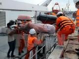 Đưa thi thể 11 nạn nhân vụ nổ bình gas trên tàu cá vào bờ