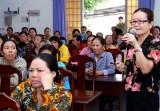 Trung ương Hội LHPNVN tổ chức truyền thông  về vai trò của phụ nữ trong đảm bảo ATGT
