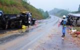 Tai nạn trên cao tốc Nội Bài–Lào Cai: 2 người chết, 7 người bị thương