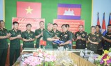 Bộ đội Biên phòng Long An xây dựng đường biên giới hòa bình, đoàn kết, hữu nghị