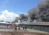 Cháy xưởng sản xuất gỗ KCX Linh Trung 2, hàng trăm công nhân tháo chạy