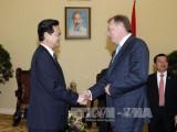 Thủ tướng tiếp Tổng giám đốc Tập đoàn dầu khí Zarubezneft-Nga