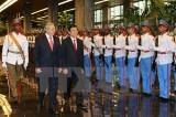 Chủ tịch nước Trương Tấn Sang hội đàm với Chủ tịch Cuba Raul