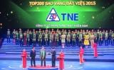 200 doanh nghiệp nhận giải Sao Vàng đất Việt 2015
