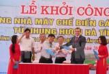 Đầu tư 65 tỷ đồng xây nhà máy chế biến nhung Hươu ở Hà Tĩnh