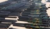 Bình Dương: Bắt vụ vận chuyển gần 400 khẩu súng hơi cùng ống giảm thanh