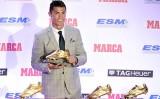 Ronaldo lần thứ 4 giành Chiếc giày vàng châu Âu
