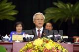 Tổng Bí thư phát biểu tại Đại hội Đại biểu Đảng bộ TP.HCM