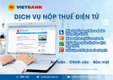 Nộp thuế điện tử tại Vietbank
