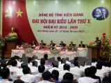 Khai mạc Đại hội đại biểu Đảng bộ tỉnh Kiên Giang lần thứ X