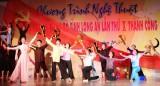 Chương trình Nghệ thuật mừng Đại hội Đảng bộ tỉnh Long An  lần thứ X thành công