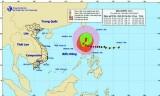 Bão Koppu giật cấp 17 trên khu vực đảo Luzon (Philippines)