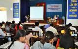 Tập huấn nâng cao năng lực giảm nghèo và công tác xã hội