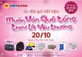 VietBank chi nhánh Long An khuyến mại mừng Ngày Phụ nữ Việt Nam 20-10