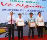 Hơn 20 tỉ đồng cho hoạt động Về nguồn ở xã Hướng Thọ Phú, TP. Tân An