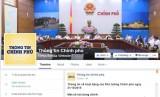 Đưa thông tin báo chí của Văn phòng Chính phủ lên Facebook
