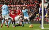 M.U - Man City 0-0: Thất vọng với derby Manchester