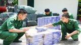Đồn Biên phòng cửa khẩu Mỹ Quý Tây đẩy mạnh công tác phòng chống buôn lậu
