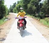 Nông thôn mới Thạnh Phước - Đường đến không xa