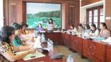 Hội Liên hiệp Phụ nữ Việt Nam làm việc tại Long An